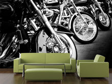 Load image into Gallery viewer, Bikes in a row Wall Mural