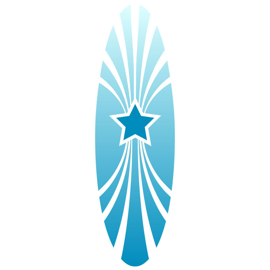 Blue Star Surfboard Tub Grip