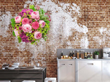 Load image into Gallery viewer, Beautiful Pink Peonies Wall Decal