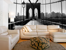Load image into Gallery viewer, Brooklyn Bridge Wall Mural 2
