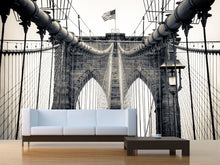 Load image into Gallery viewer, Brooklyn Bridge Wall Mural
