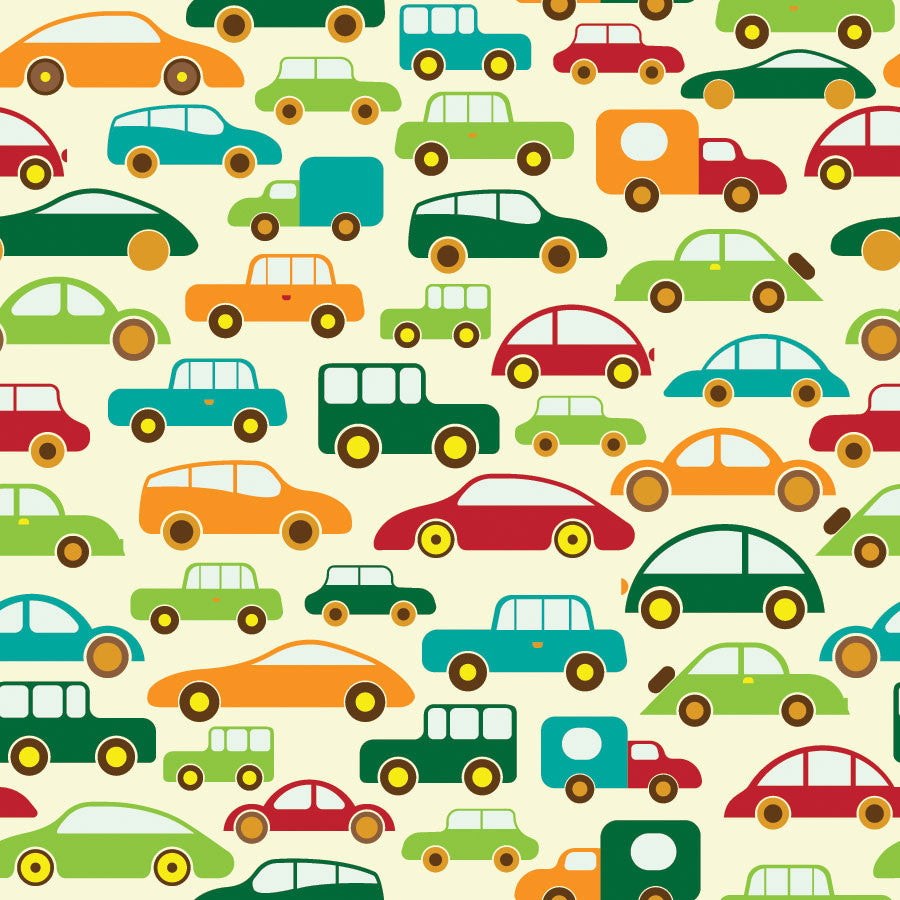Car Traffic Wall Mural