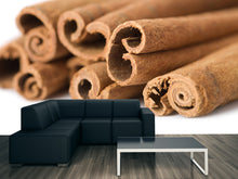Load image into Gallery viewer, Cinnamon Sticks Wall Mural