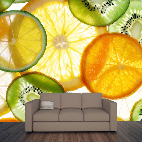 Citruses Wall Mural