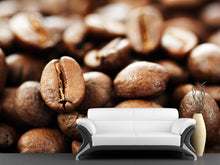 Load image into Gallery viewer, Close Up Coffee Wall Mural