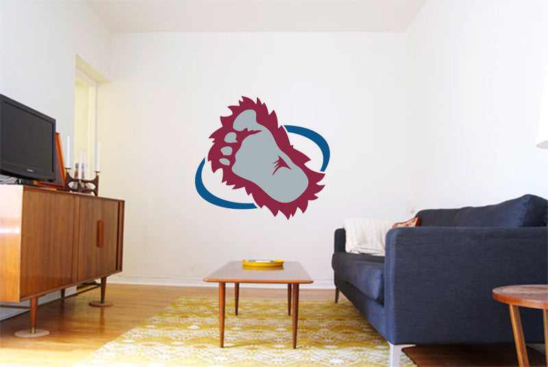 Colorado Avalanche Logo Wall Decal