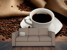 Load image into Gallery viewer, Cup of Coffee and Beans Wall Mural
