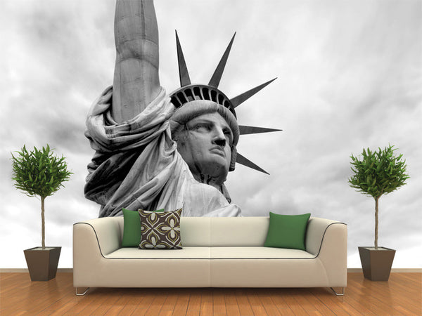 Detail of the Statue of Liberty Wall Mural