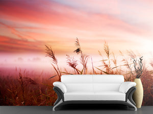 Early Morning Mist Wall Mural
