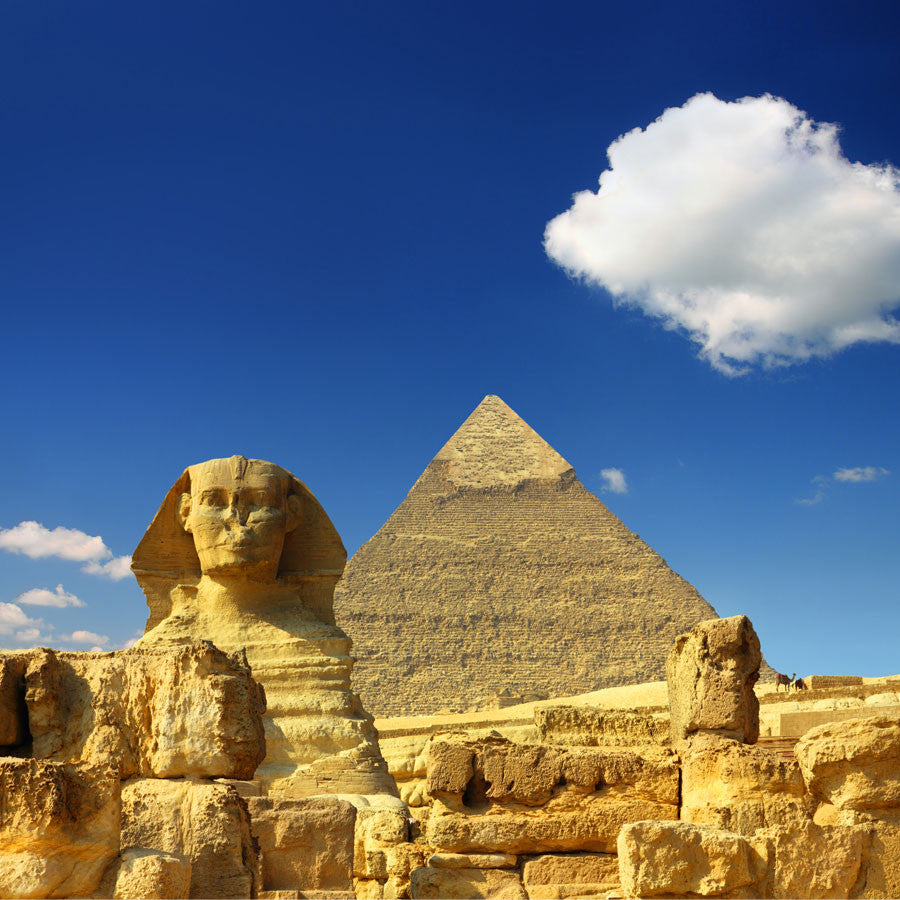 Egypt Cheops Pyramid and Sphinx Wall Mural