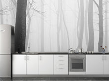 Load image into Gallery viewer, Forest in Fog Wall Mural
