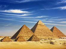 Load image into Gallery viewer, Giza Pyramids Wall Mural