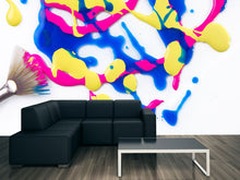 Load image into Gallery viewer, Paint Splat Wall Mural