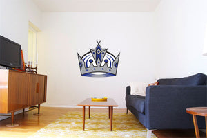 Los Angeles Kings Hockey Logo Wall Decal