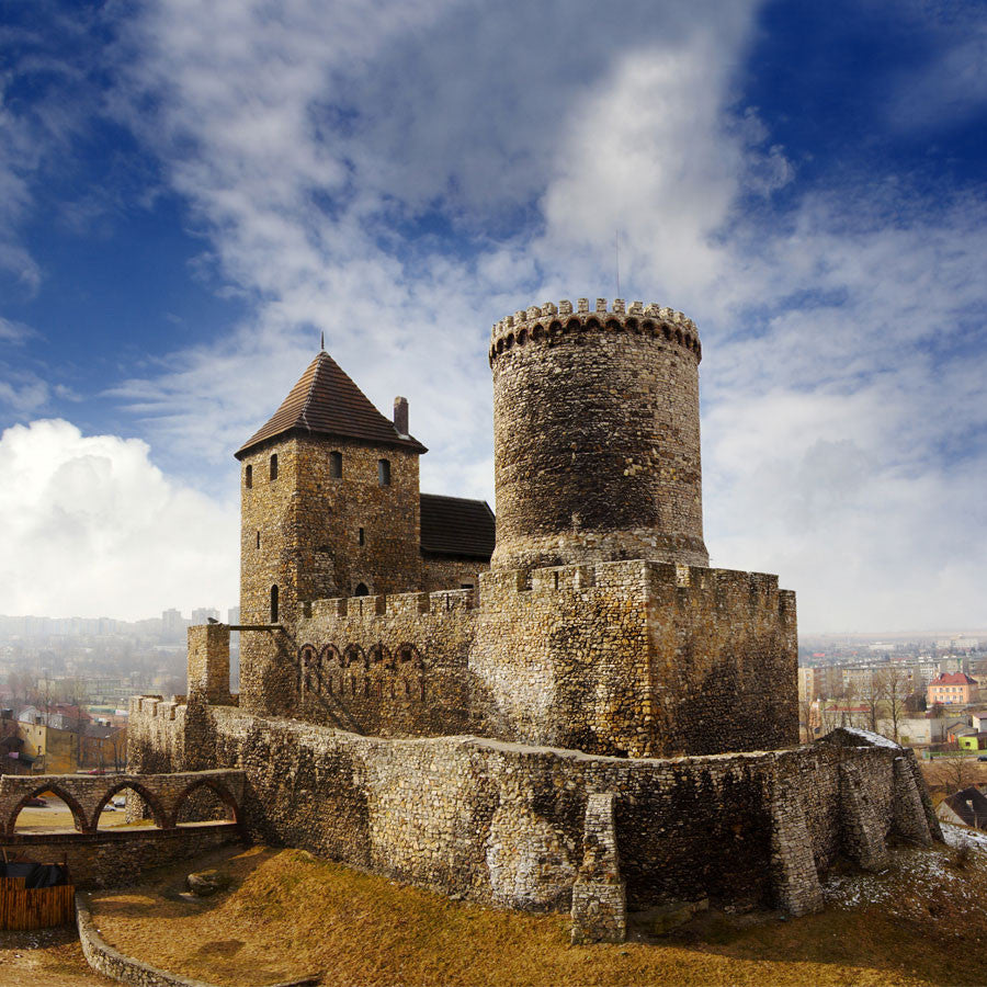 Medieval castle in bedzin poland wall mural majestic wall art medieval castle in bedzin poland wall mural amipublicfo Image collections