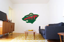 Load image into Gallery viewer, Minnesota Wild Cats Hockey Logo Wall Decal
