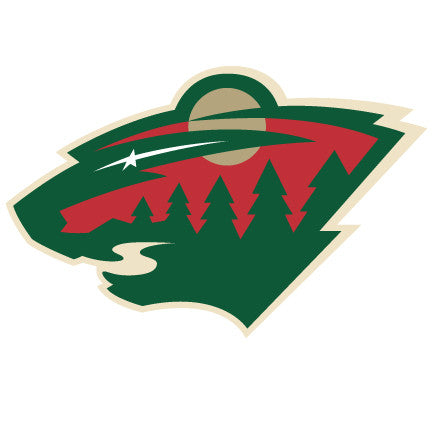 Minnesota Wild Cats Hockey Logo Wall Decal
