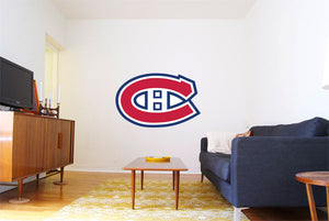 Montreal Canadians Hockey Logo Wall Decal