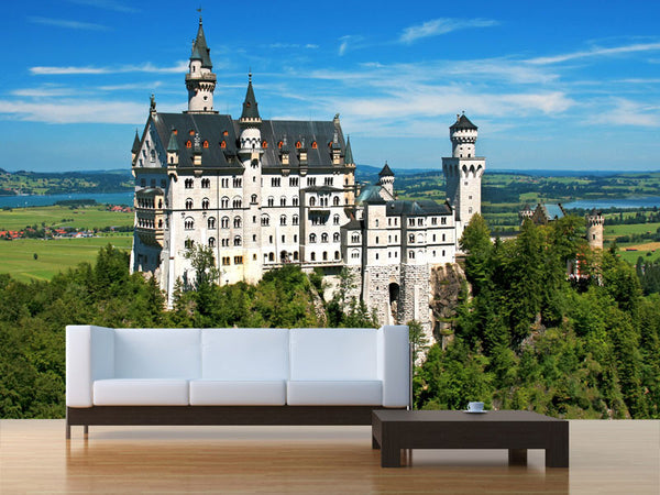 Neuschwanstein Castle Germany Wall Mural