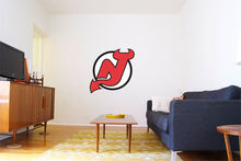 Load image into Gallery viewer, New Jersey Devils Hockey Logo Wall Decal