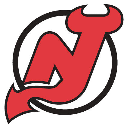 New Jersey Devils Hockey Logo Wall Decal
