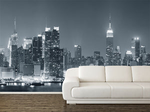 New York City Midtown Skyline Wall Mural