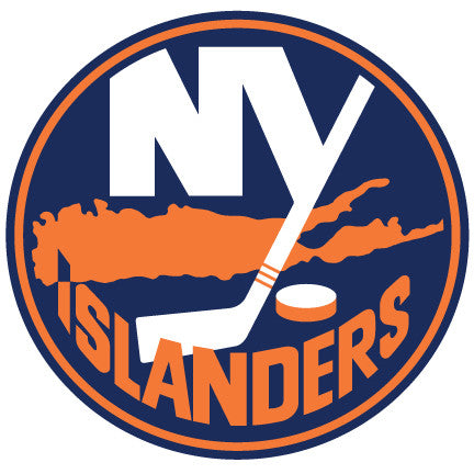 New York Islanders Hockey Logo Wall Decal