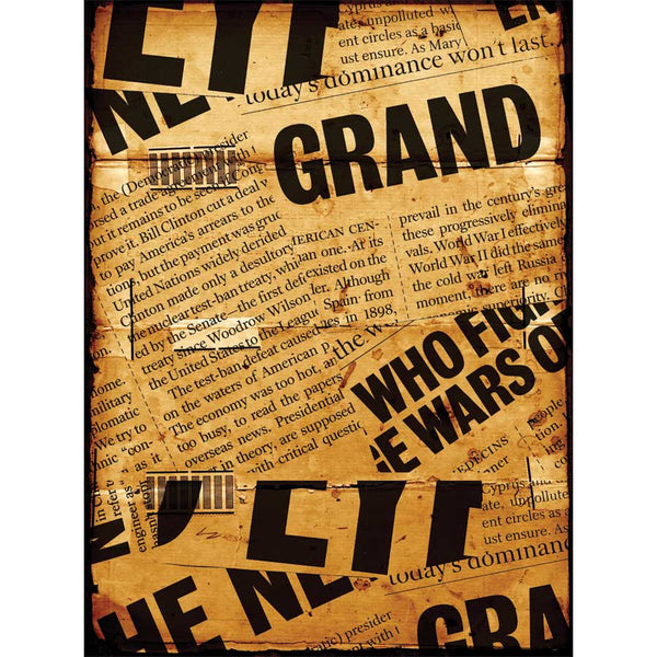 Newspaper Headlines Wall Mural