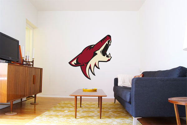 Phoenix Coyotes Hockey Logo Wall Decal