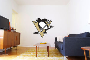 Pittsburgh Penguins Hockey Logo Wall Decal