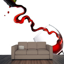 Load image into Gallery viewer, Pouring Wine into Wine Glass Wall Mural