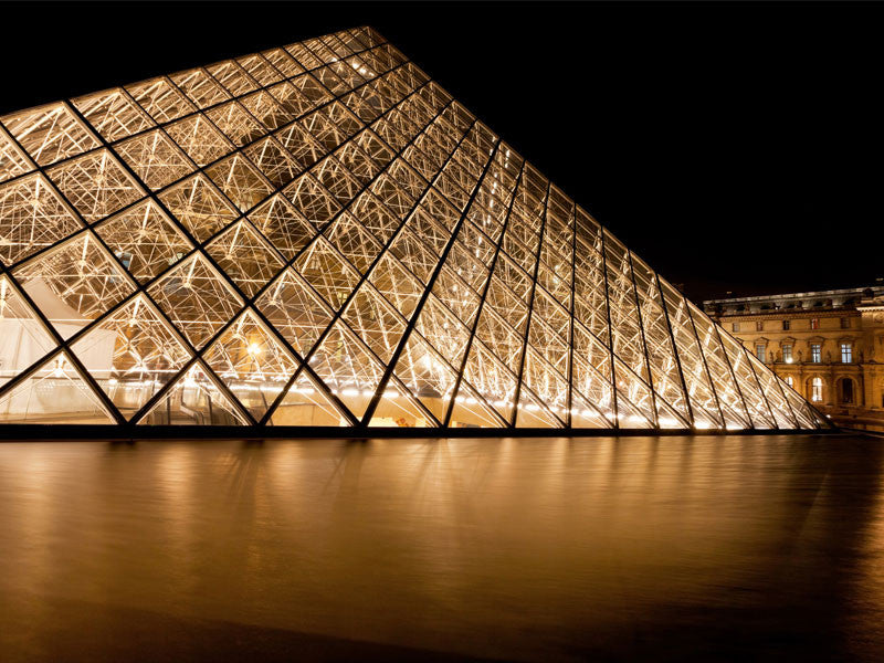 Pyramid of Louvre Museum Paris Wall Mural
