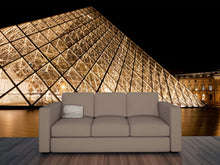 Load image into Gallery viewer, Pyramid of Louvre Museum Paris Wall Mural