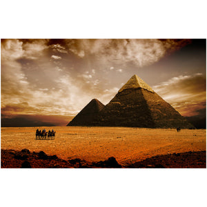 Pyramids of Giza Wall Decal