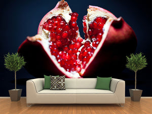 Red Pomegranate Wall Mural