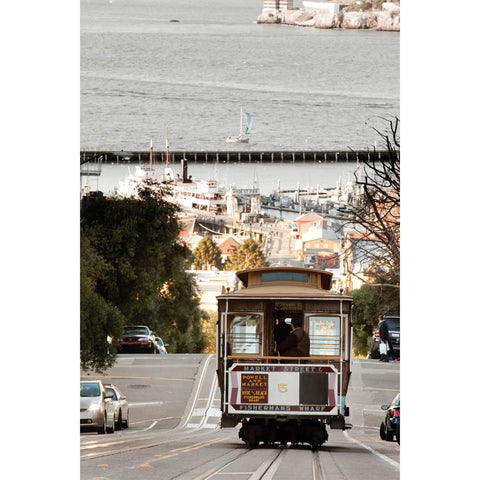 San Francisco and Cable Car Wall Mural