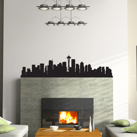 Seattle Skyline Wall Decal