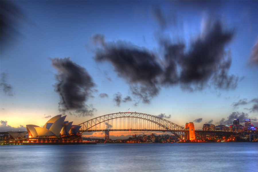Sydney Harbour, Opera House and Bridge Wall Mural