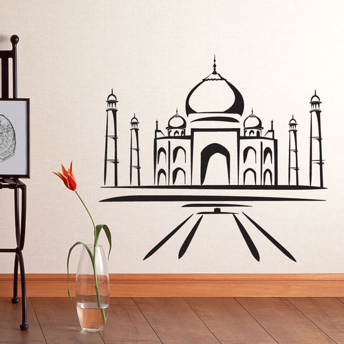 Taj Mahal Wall Decal
