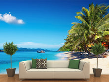 Load image into Gallery viewer, Tropical Beach in Thailand Wall Decal
