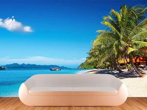 Tropical Beach in Thailand Wall Decal