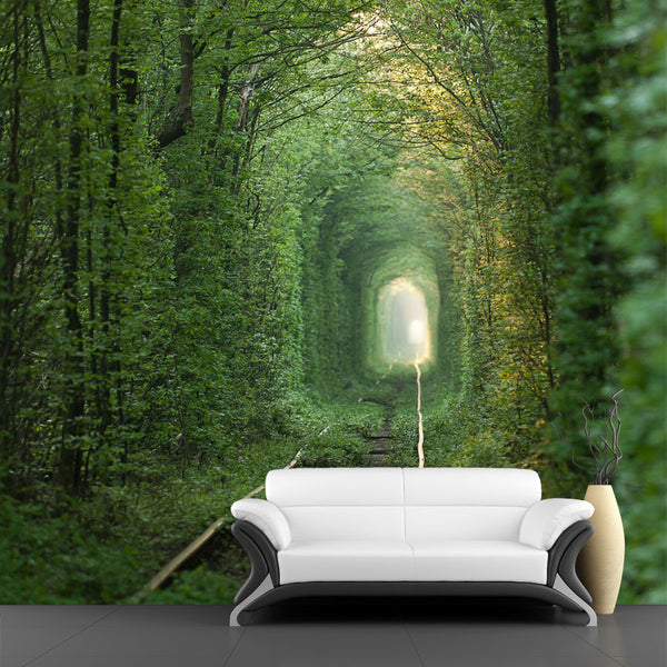 Tunnel of Love Ukraine Wall Mural