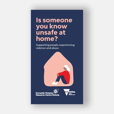 Is someone you know unsafe at home?