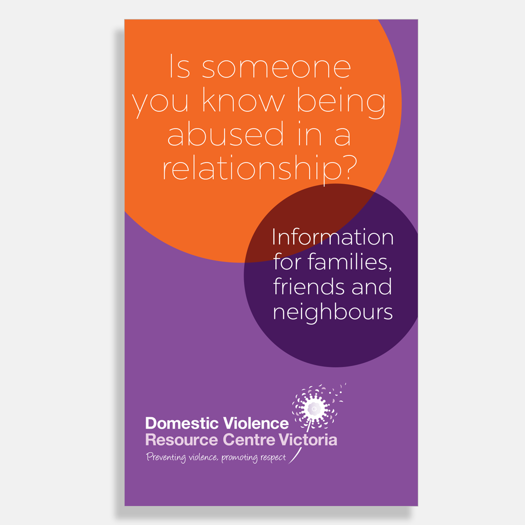 Is someone you know being abused in a relationship? - DVRCV
