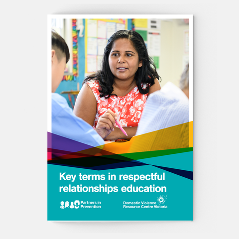 Key terms in respectful relationships education