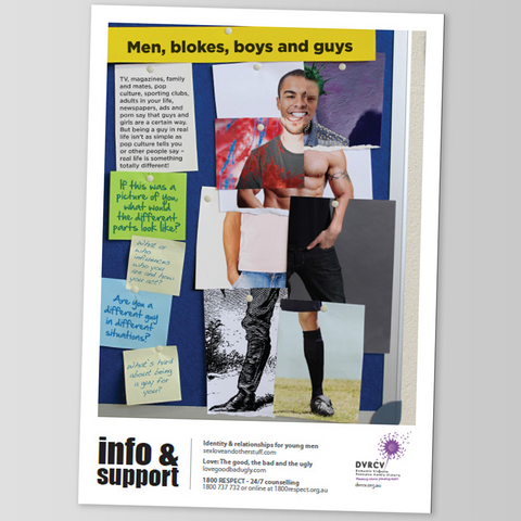Men, blokes, boys & guys - DVRCV