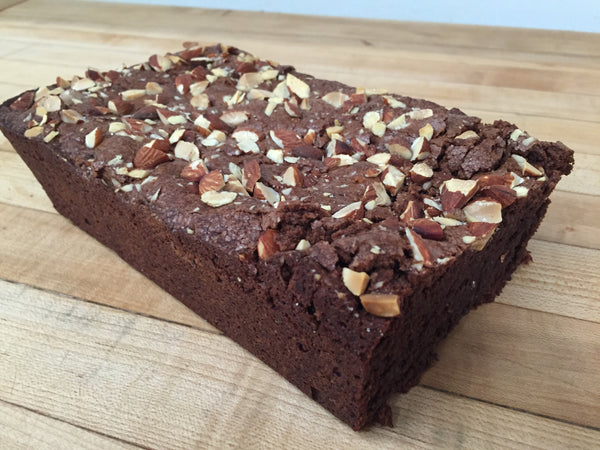 Gluten Free Chocolate Almond Tea Cake