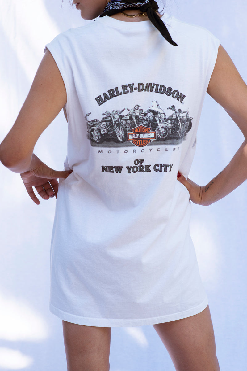 Vintage Harley- Davidson New York City Muscle Tank