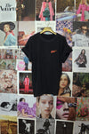 Vintage LIVE! Black Graphic Tee