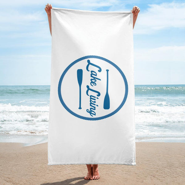 Lake Living Beach Towel